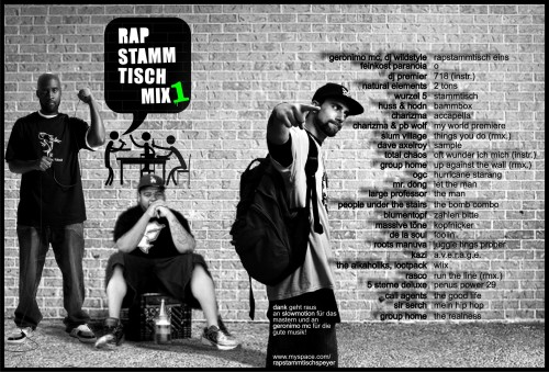 Rapstammtischmix 1 Cover